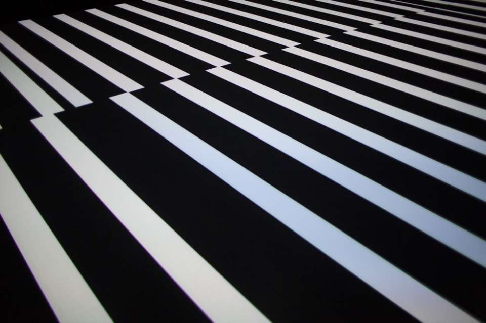 test pattern [n°6]: Ryoji Ikeda at Spiral Hall