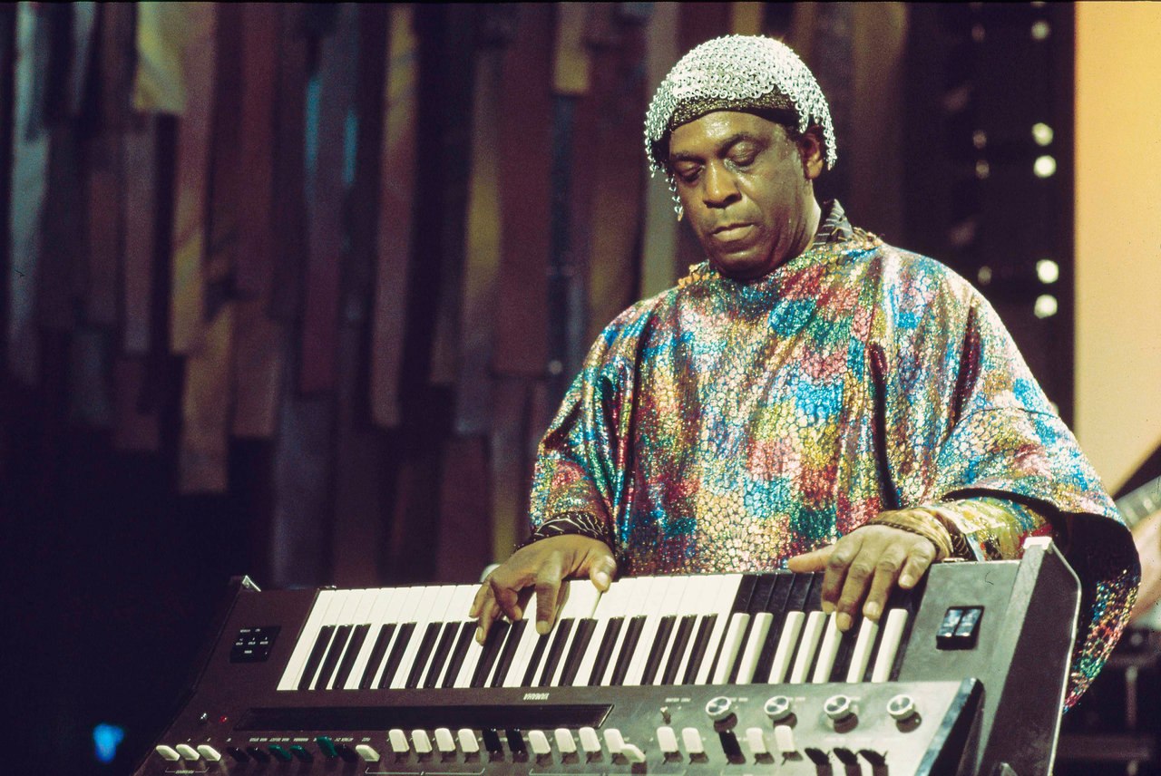 Sun Ra at the Montreux Jazz Festival, 1976 Andrew Putler / Redferns
