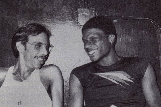 Nicky Siano and Larry Levan Credit: Michael Gomes