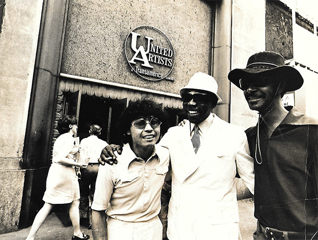 with Elvin Jones and Duke Pearson
