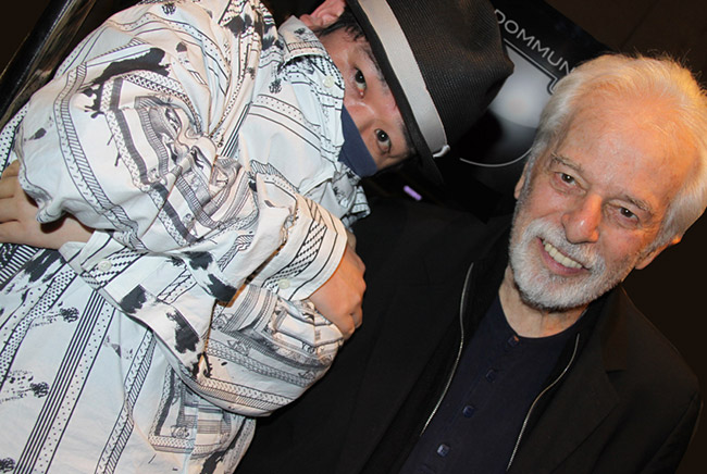 with Alexandro Jodorowsky